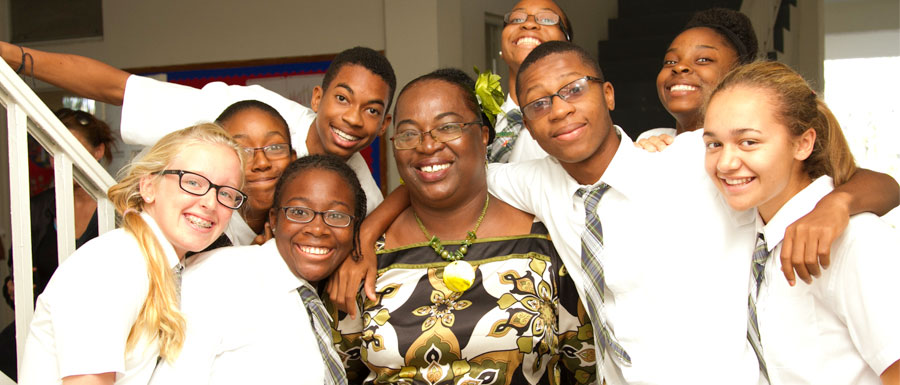 Ms Delancy and her peeps