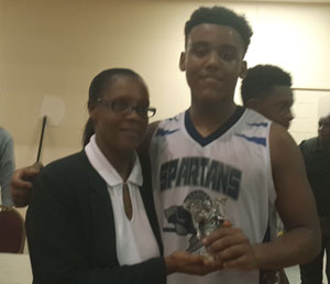 Quinn Higgs MVP British West Indies Collegiate