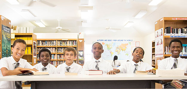 Pastoral care at BWIC secondary school on Providenciales