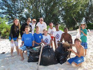 British West Indies Collegiate Reef Action Team Turks and Caicos Islands