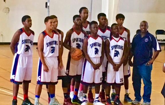 British West Indies Collegiate Spartans Basketball Team