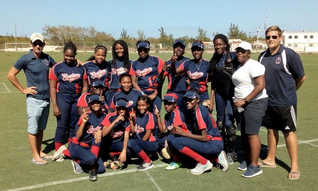 British West Indies Collegiate girls Softball team 2016 - 2017 are the champions