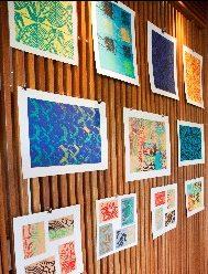 British West Indies Collegiate Turks and Caicos Islands Art Display at Amanyara Resort fund raising event January 2016