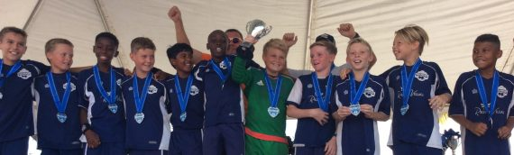 TCIFA Under 12 boys' team wins Weston Cup