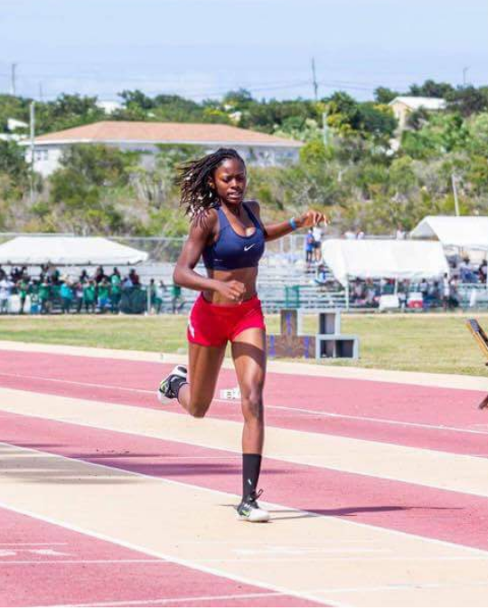 Akia Guerrier will be competing in the 200m and 400m events.